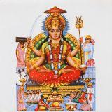 Die Göttin Parvati Ermächtigung
