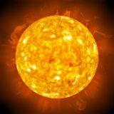 Goldene Kugel der Sonnenengel