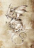 Dragon White Wing